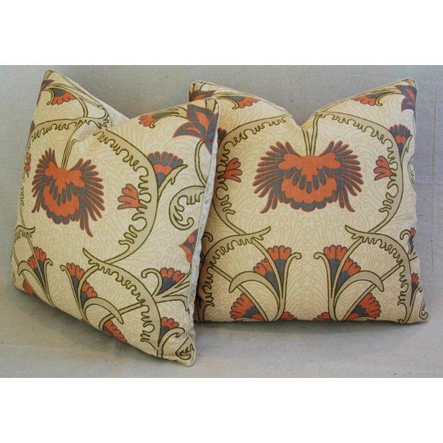 Designer Home Couture Contessa Linen Pillows - A Pair For Sale - Image 9 of 10