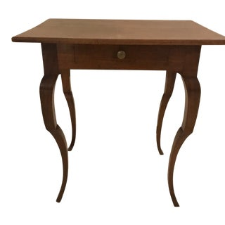 19th C. Italian Walnut Side Table