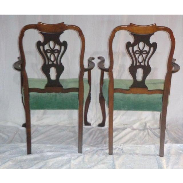 Batesville Mahogany Dining Chairs- Set of 6 - Image 3 of 11