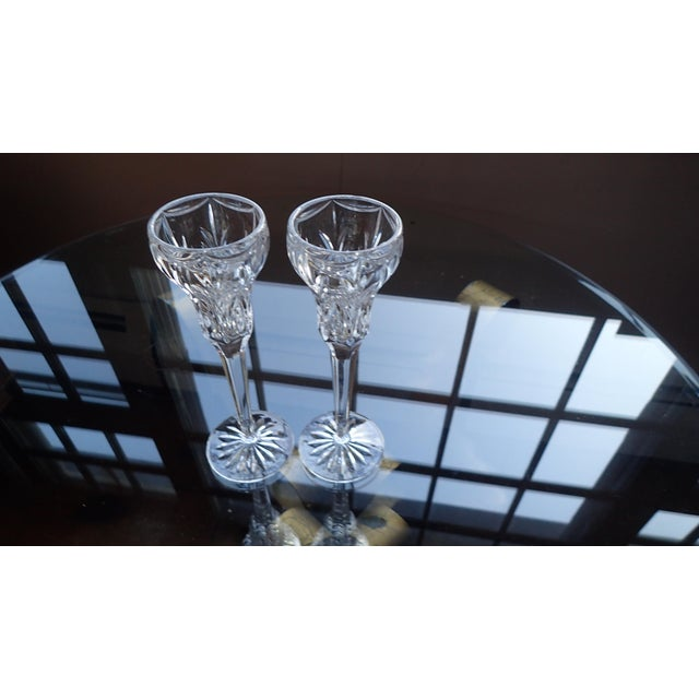 Elegant Marquis by Waterford Canterbury Candlesticks S/2 - Image 7 of 7