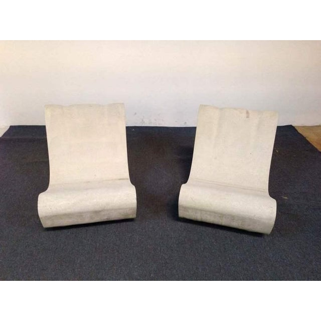 Outdoor Mid-Century Modern Lounge Chairs - A Pair - Image 2 of 4