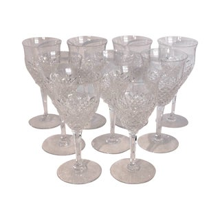 Val Saint-Lambert Wine Goblets - Set of 9