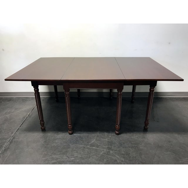 Willett Cherrywood Gate Leg Drop Leaf Dining Table For Sale - Image 11 of 11