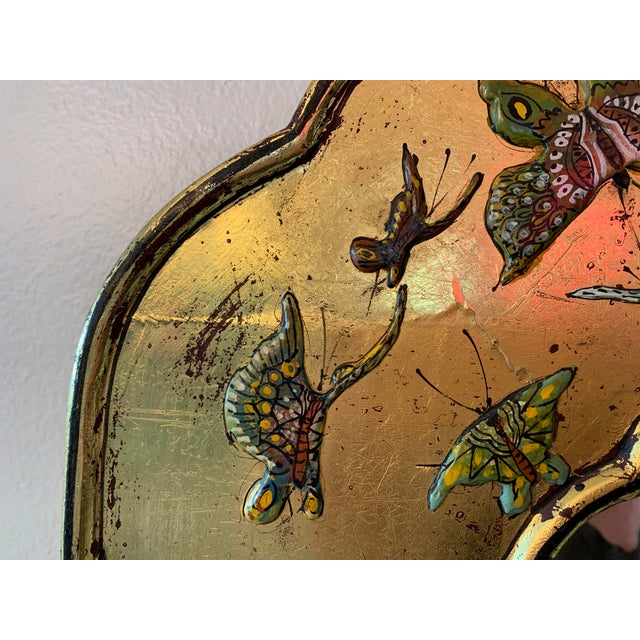Bohemian Butterfly Wall Mirror For Sale - Image 9 of 13