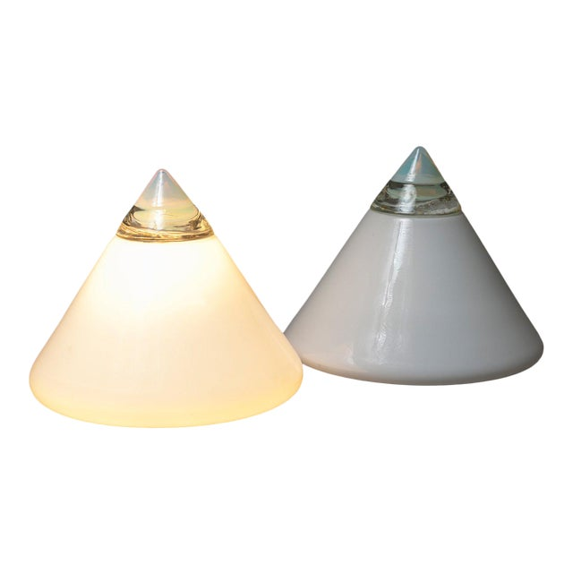 """Pair of """"Rio"""" Table Lamps by Giusto Toso for Leucos For Sale"""