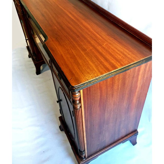 Traditional Union National Fine Furnishings Mahogany Buffet For Sale - Image 3 of 7