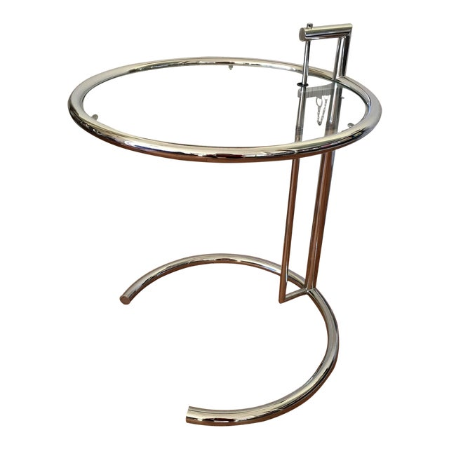Eileen Gray Modern End Table Chairish - Eileen gray end table
