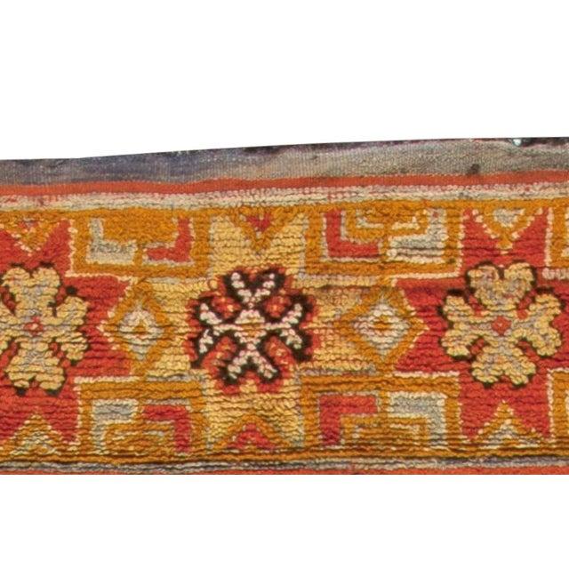 Vintage Moroccan Rug For Sale - Image 4 of 6