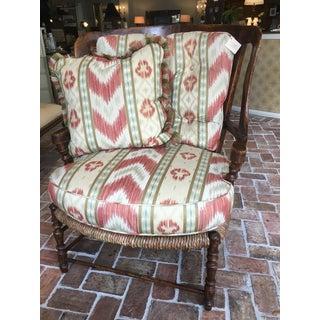 Hamilton Collection Costa Wing Chair & Ottoman Preview