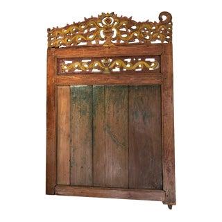 Antique Wooden Door For Sale