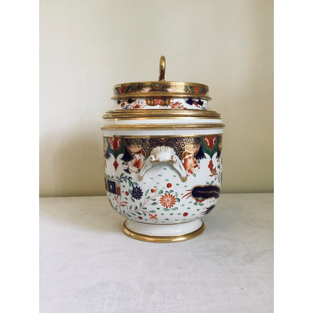English 1800s Spode Fruit Cooler/Ice Pail For Sale - Image 3 of 12