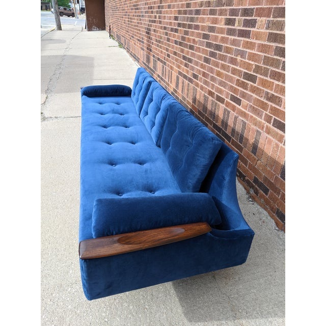 This sofa was rescued by me and meticulously restored by Comfort upholstery in Chicago. The original color as found was a...
