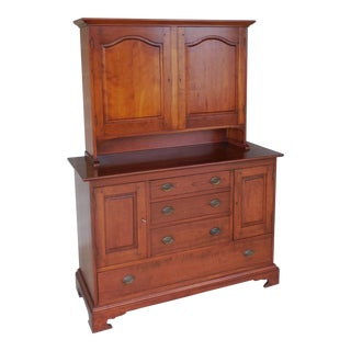 Stickley Cherry Blind Door Cabinet