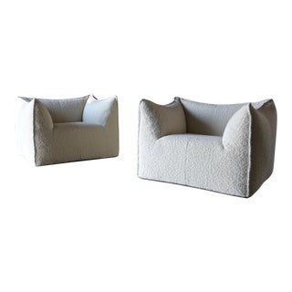"Mario Bellini ""Le Bambole"" Lounge Chairs for B&B Italia Circa 1985 - a Pair For Sale"