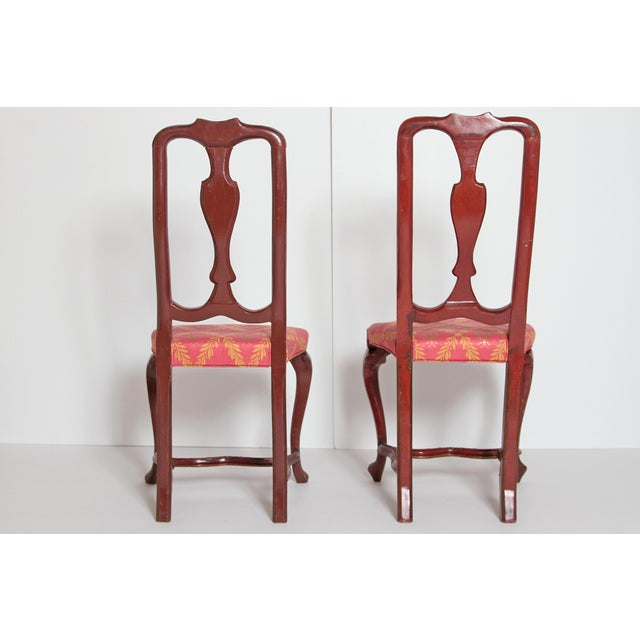 Pair of English Side Chairs For Sale - Image 10 of 13