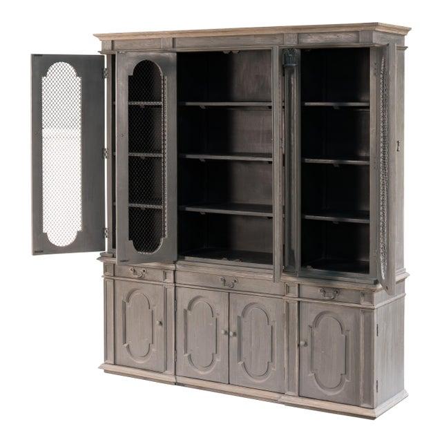 Sarreid Ltd. Ashburne Cabinet For Sale - Image 4 of 5