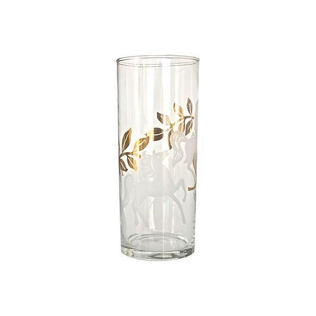 "Mid-Century ""Cavalcade"" Glassware - Set of 10 - Image 3 of 3"