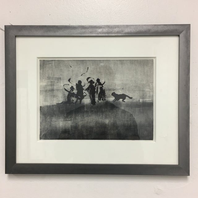 Original Charcoal Drawing, Signed and Framed - Image 2 of 6