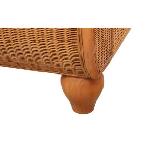 King Sized Indonesian Wicker Sleigh Bedframe Preview