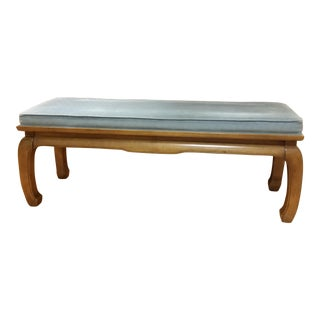 Hollywood Regency Kang Style Bench