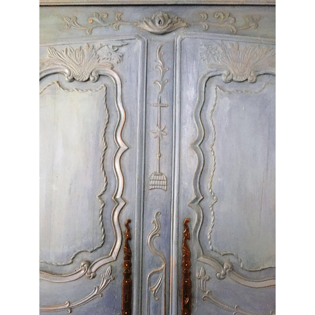 French Louis XV Period Armoire, Circa 1780 For Sale - Image 4 of 5