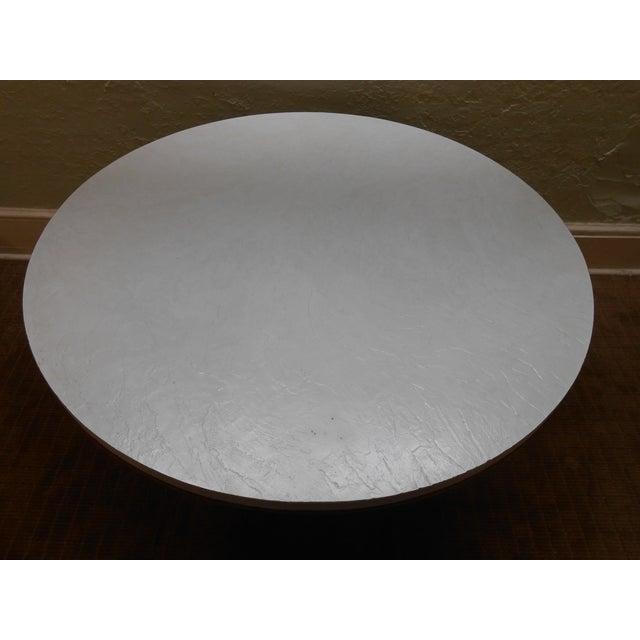 Mid-Century Modern Iron Based Dining Set - Image 3 of 10