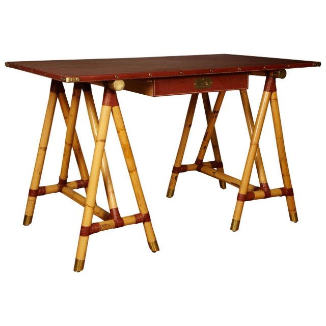 1950s Desk by Jacques Adnet For Sale - Image 10 of 10