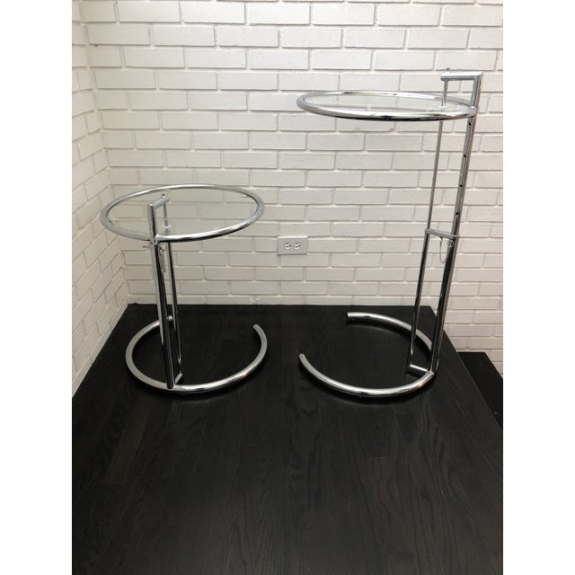 A Modern Classic inspired by Eileen Gray's 1927 original design. You can adjust the height of these tables to 5 different...