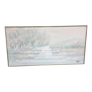 1970s Vintage Lee Reynolds Landscape Painting For Sale