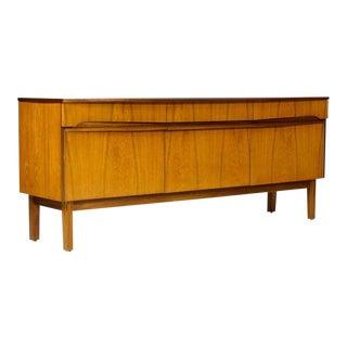1960s Danish Modern Teak Credenza/Media Cabinet For Sale