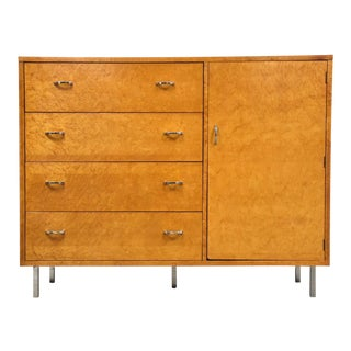 Lane Bird's Eye Maple Chifforobe Dresser For Sale