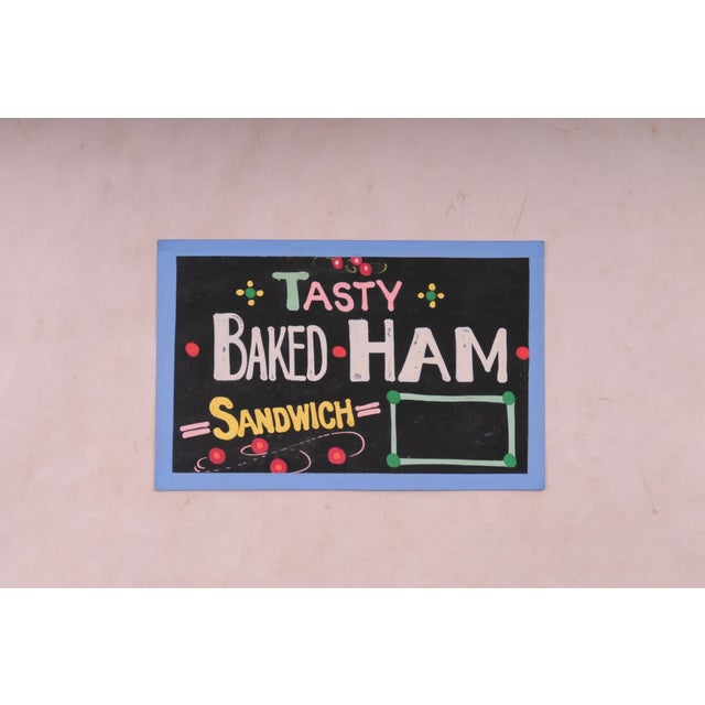 """Tasty Baked Ham"" Sign - Image 2 of 3"
