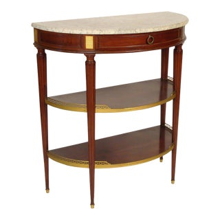Louis XVI Style Console Table For Sale