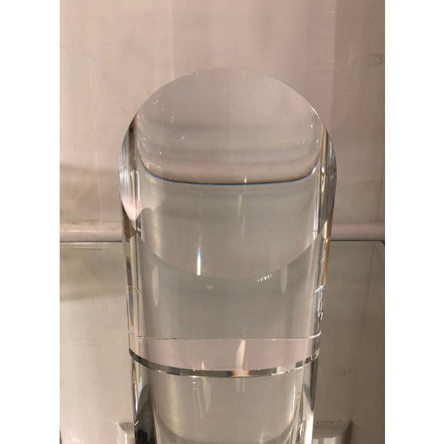 Signed Tiffany & Co. Art Deco Crystal Sculpture For Sale In Los Angeles - Image 6 of 6