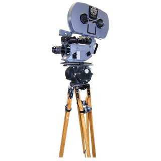 Working Feature Film Movie Camera Used On James Bond Movies C. 1980s For Sale
