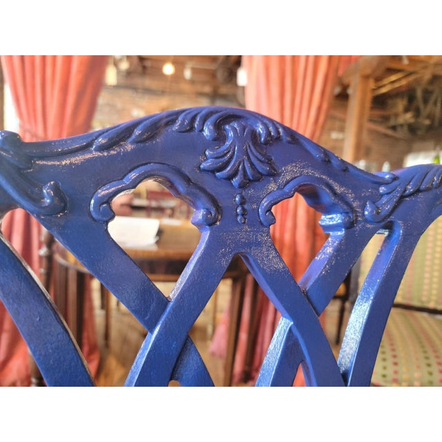 1980s 1980s Drexel Heritage Chippendale Chairs - Set of 4 For Sale - Image 5 of 12