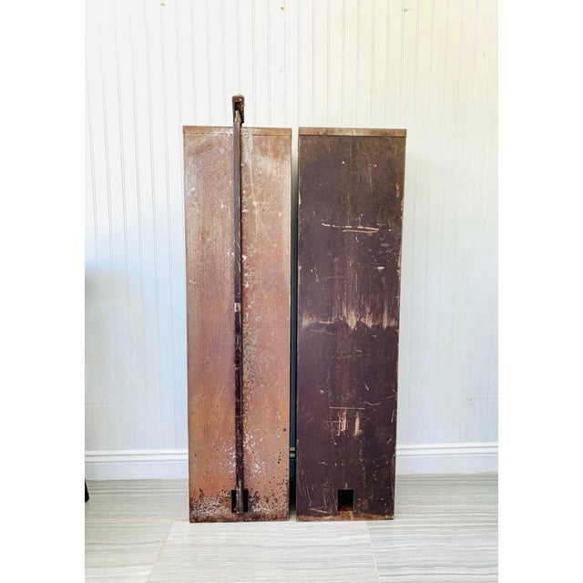 Industrial Metal Watchmaker/Jeweler Parts Cabinets - a Pair For Sale - Image 11 of 13