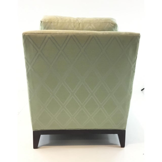 2010s Transitional Hickory Chair 9th Street Light Green Club Chair For Sale - Image 5 of 6