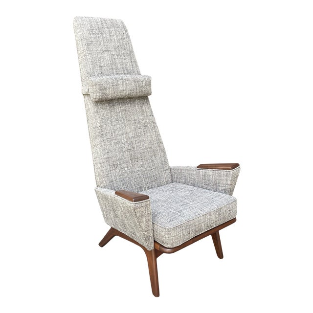 Mid 20th Century Lounge Chair Attributed to Adrian Pearsall For Sale
