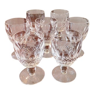 "Waterford ""Colleen"" Water Goblets - Set of 7"