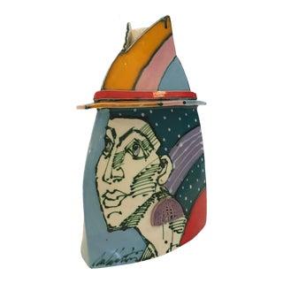 Vintage Ceramic Art Sculpture by Rasa & Jouzas Saldaitis