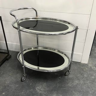 Vintage Mid-Century Modern Rolling Bar Cart Preview