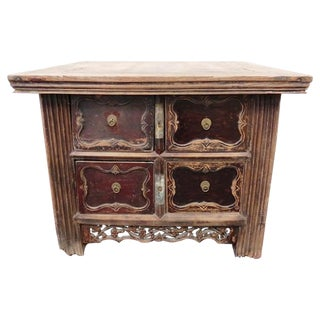 Antique Incent Table Chest of Drawers For Sale