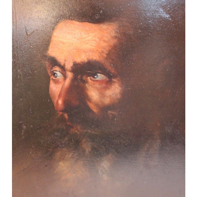 Vintage Portrait of a Man Painting - Image 3 of 5