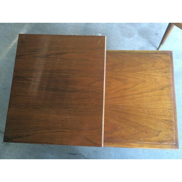 Mid-Century Step Side Tables - A Pair For Sale In Washington DC - Image 6 of 10