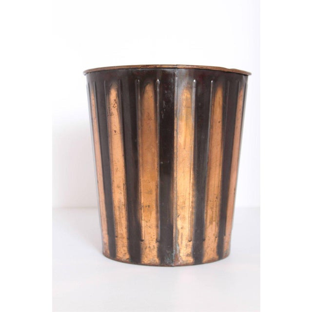 Machine Age Art Deco Industrial Arts Waste Receptacle by Erie Art Metal For Sale In Dallas - Image 6 of 11