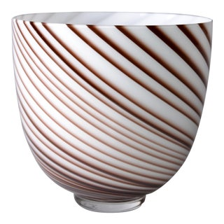 Original Tommaso Barbi Italian Murano Decorative Bowl For Sale