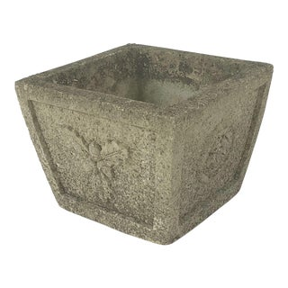 English Garden Stone Cotswold Planter For Sale