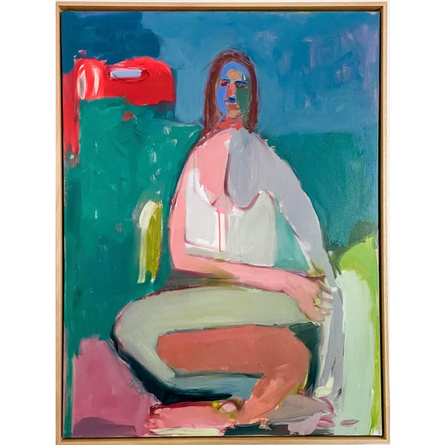"30x40x.75, Oil on Canvas. Framed dimensions: 31.25 x 41.25 x 2.25""."