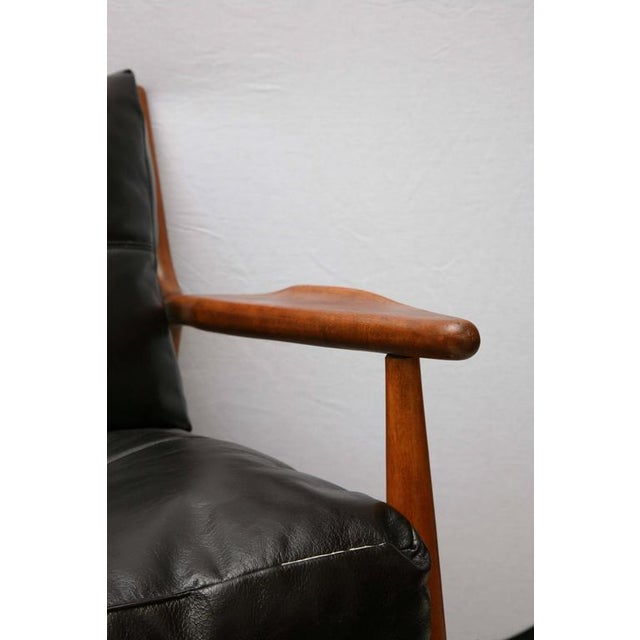 Wood Teak Chair by Conant Ball, 1950s, Usa For Sale - Image 7 of 9